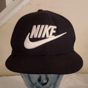 Nike Wool Black Hat Raised Letters